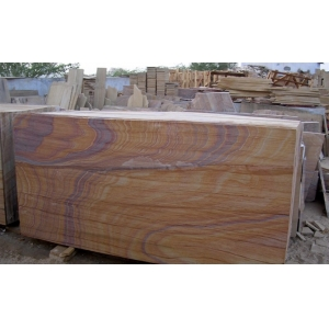 rainbow sandstone tiles for wall