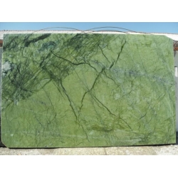 Polished Ming Green marble slab